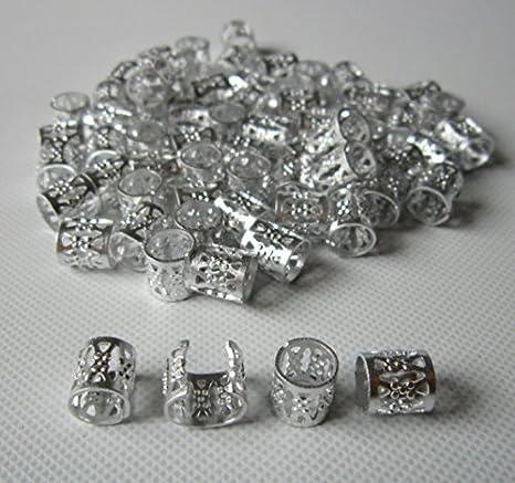 sister locks jewelry Sun dreadlock bead in silver or bronze