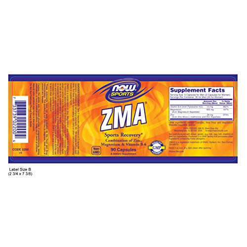 ZMA by Now Foods
