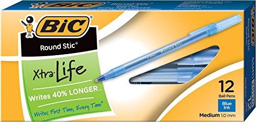 bic-round-stic-xtra-life-ball-pen-medium-point-10-mm-blue-12-count