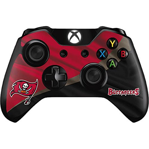 (Skinit Tampa Bay Buccaneers Xbox One Controller Skin - Officially Licensed NFL Gaming Decal - Ultra Thin, Lightweight Vinyl Decal Protection)