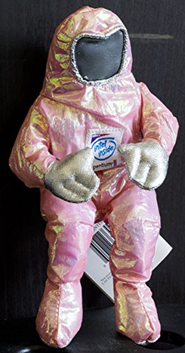 Price comparison product image Intel Pentium II BunnyPeople Collectible Plush Toy - Iridescent Pink
