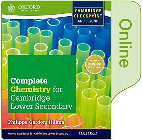 Complete Chemistry for Cambridge Lower Secondary: Online Student Book (CIE Checkpoint) ebook