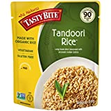 Tasty Bite Rice Tandoori 8.8 Ounce (Pack of 6), Tandoori Style Indian Rice, Fully Cooked, Ready to Serve, Microwaveable, Vegan Gluten-Free No Preservatives