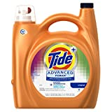 Tide Advanced Power Plus Bleach Alternative Liquid Laundry Detergent, HE Turbo Clean, 170 oz, 81 Loads