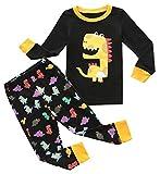 Fiream Boys Cotton Pajamas Sets 2 Piece Cartoon Toddler Sleepwears(18033,3-4YRS)
