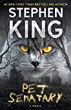 Book cover from Pet Sematary by Stephen King