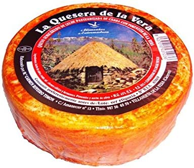 Queso de Cabra Extremeño - La Quesera de la Vera: Amazon.es: Alimentación y bebidas