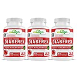 XINNORA Diaberex - Advance Blood Sugar Formula, Support Healthy Blood Sugar, Lower Blood Glucose Naturally, Supports Weight Loss & Healthy Metabolism - Powerful Herbs & Antioxidants - 60 Caps x 3 BTLs