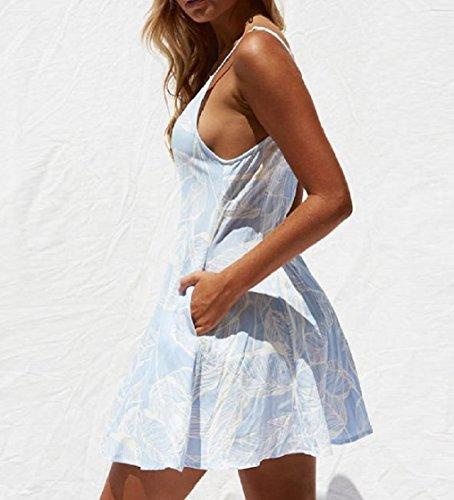 Coolred-femmes Moulantes Élégantes Robes Courtes Bouffantes Surdimensionné Chic Été Bleu Clair