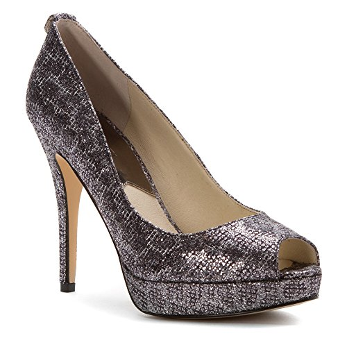 MICHAEL Michael Kors Women's York Platform Pump Cheetah Black 8 - Kors York Michael