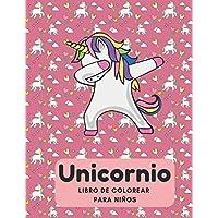 Unicornio Libro de Colorear para Niños: 35 Diseños