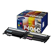 Samsung Electronics CLT-P406C/XAA Value Pack Toner