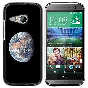 TECHCASE**Cubierta de la caja de protección la piel dura para el ** HTC ONE MINI 2 / M8 MINI ** Planet Earth Comsmos Space Universe Sun