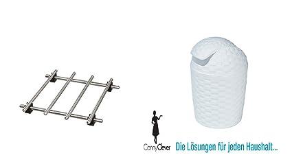 "Ikea - Salvamanteles ""lämplig Sartén Posavasos de acero inoxidable - Con Patas de"