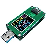 KAAYEE USB Multimeter YZXstudio ZY1270 0.0001V 0.0001A 3.5-24V for Testing Power Bank Voltage, Current, Ah/Wh, D+/D- Recognition, Cable Resist