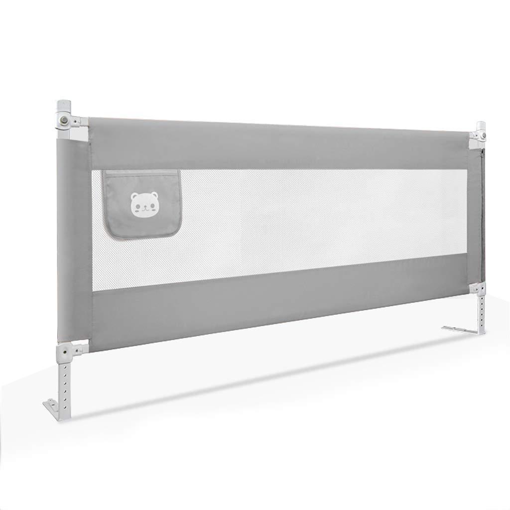 GY ベッドレール、 ベビー飛散防止ベッドガードレール、 垂直リフト 子供用ベッドサイドフェンス、 調整可能な、 ユニバーサル大きなベッド 1.5m / 1.8m / 2.0m、 3色 (色 : Pink, サイズ さいず : 200cm) 200cm Pink B07J6SF6HD