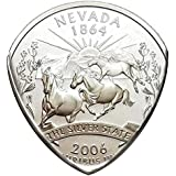 State Coin Guitar Pick (Nevada)