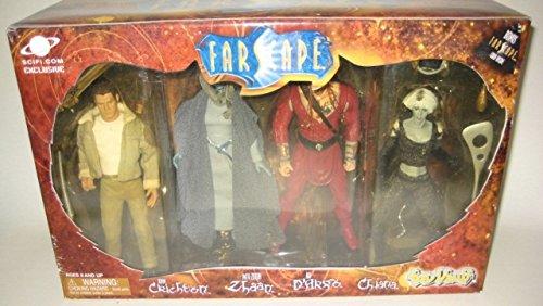 Toy Vault Farscape 4 Figure Set Featuring Crichton, Zhaan...