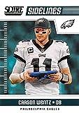 #8: 2018 Score Sidelines #2 Carson Wentz Philadelphia Eagles Football Card
