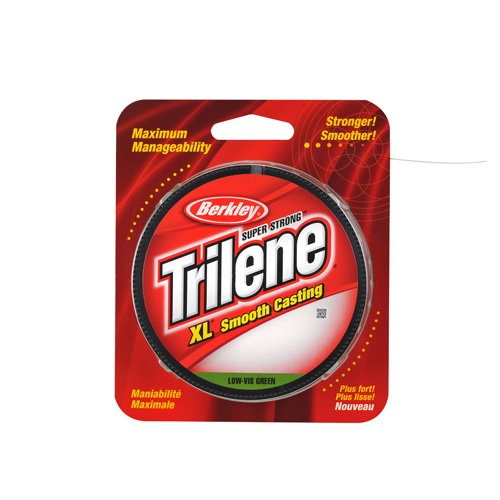 Berkley Trilene XL Smooth Casting Filler Spool Low-Vis Green, LO-VIS GRN, 10 -