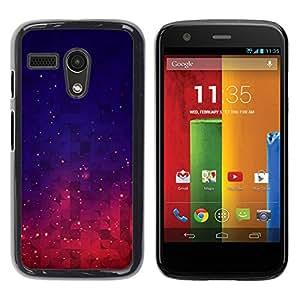 """Pulsar Snap-on Series Teléfono Carcasa Funda Case Caso para Motorola Moto G ( 1st Generation ) , Espacio Nebulosa Cosmos Estrellas Cielo"""""""