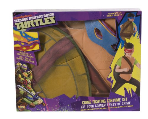 Blue Ninja Turtle Halloween Costume (Teenage Mutant Ninja Turtles Crime Fighting Costume Set)