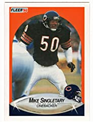 Mike Singletary - Chicago Bears (Football Card) 1990 Fleer # 299 Mint