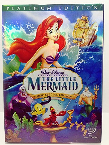 Lowest Prices! The Little Mermaid DVD 2-Disc Platinum Edition