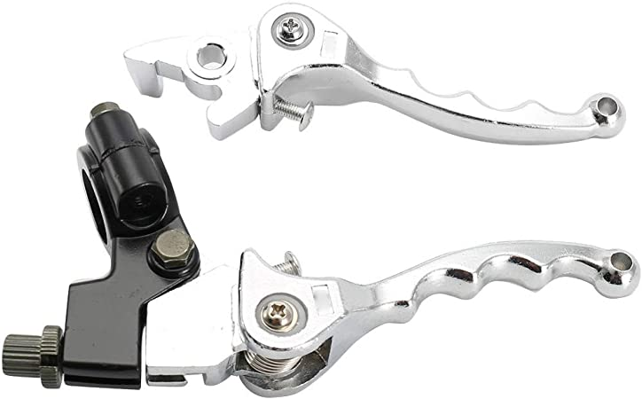 DULALA Leva Frizione Freno Pieghevole 7//8Manubrio Pit Dirt Bike Parti modificate per XR50 CRF50 XR70 CRF70