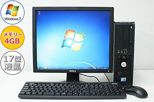 バーゲンで 中古パソコン デスクトップ Windows7 デル 液晶モニター付き DELL デル OptiPlex B00LL4KQ5S 780 Windows7 SFF Core2Duo 2.93GHz メモリ4GB HDD160GB DVD-ROM B00LL4KQ5S, 柿崎町:bf4dfdd8 --- arbimovel.dominiotemporario.com