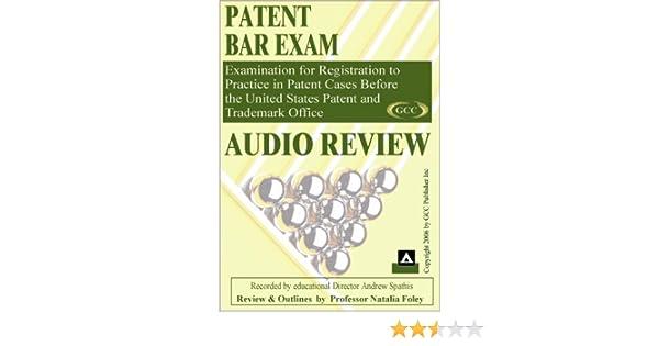Patent Bar Exam Audio Course: Natalia Foley: 9780978649104