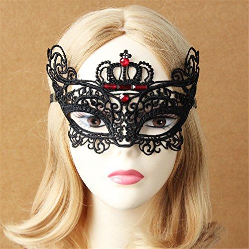 Sexy Prom Princess Diamond Embedded Crown Mask Masquerade Mask
