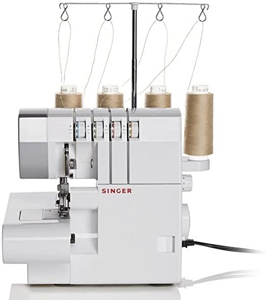 Singer 14SH754 - Máquina de Coser (Overlock, 1 Paso, Variable, 1300 RPM, Variable): Amazon.es: Hogar
