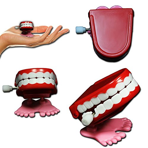 Where to find wind up teeth with feet?
