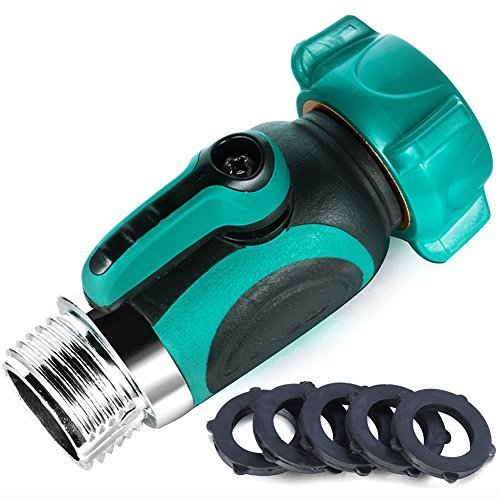 (Professional links to External Garden Hose Shut Off Valve, Free to Close Valves or Open Valves, link Faucets, Quality Assurance, Durable Use (Plus five black washers,Quality assurance for three years))