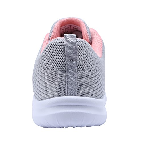 Women's Grey 5 New Sport Shoes Sneakers Casual Fashion Flexible YILAN qWR4vwfv