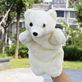 Hand Puppet Toys Teddy Bear Hand Puppet Plush Toy Small Animal Figurine Finger