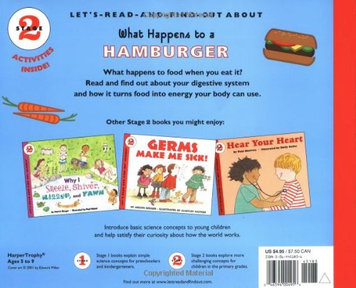 What Happens to a Hamburger (Let's-Read-and-Find-Out Science 2)