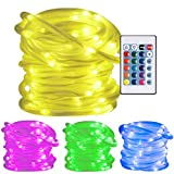 Ustellar RGB 33ft 100LED Rope Lights, Waterproof Color Review and Comparison