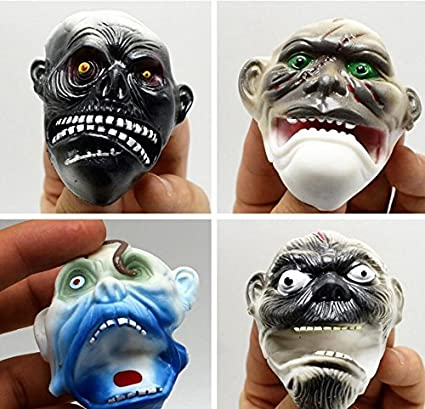 ychoice interesting finger puppets toy monster finger puppets halloween props for adult and children