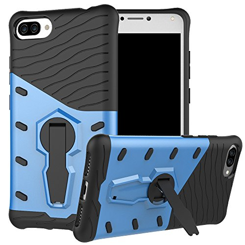 Slim Armor TPU Case for Asus Zenfone 2 (Blue) - 5