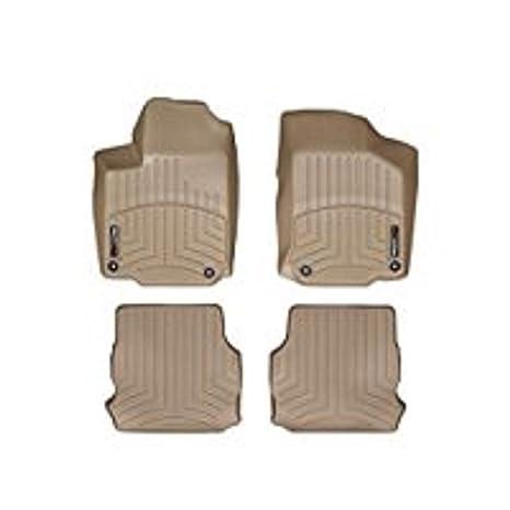 WeatherTech Custom Fit Rear FloorLiner for Volkswagen Beetle Tan 452632