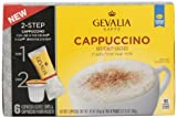 Gevalia Coffee Cups and Froth Packets Cappuccino Espresso 6ct (Pack of 6)