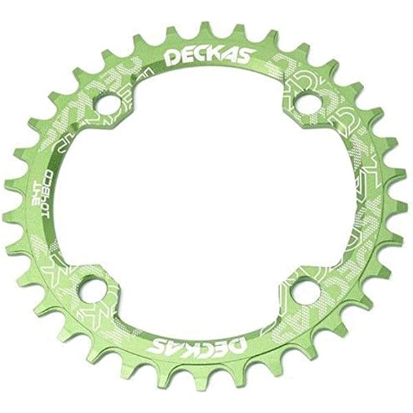 Narrow Wide Oval Single Chainring Chain Ring BCD104mm 32 34 36 38T MTB Bike Gold