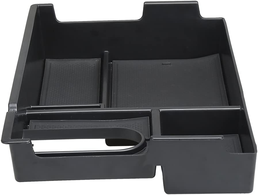 SUPAREE Armrest Storage Organizer Center Console Insert Organizer Tray for Toyota Tundra 2014-2017