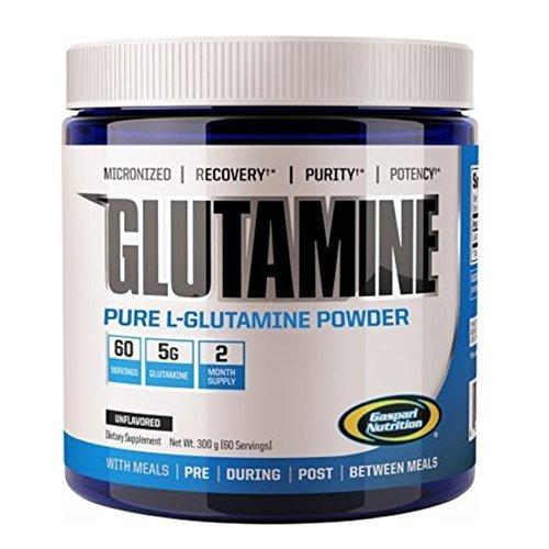 Gaspari Nutrition Mezcla de Proteínas y Aminoácidos Glutamine, 300 g