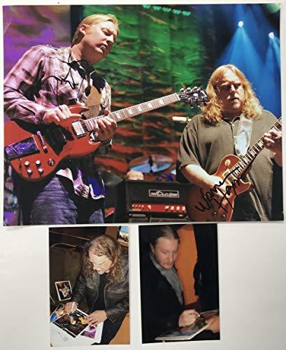 (Derek Trucks & Warren Haynes Signed Autographed Glossy 11x14 Photo - COA Matching Holograms)