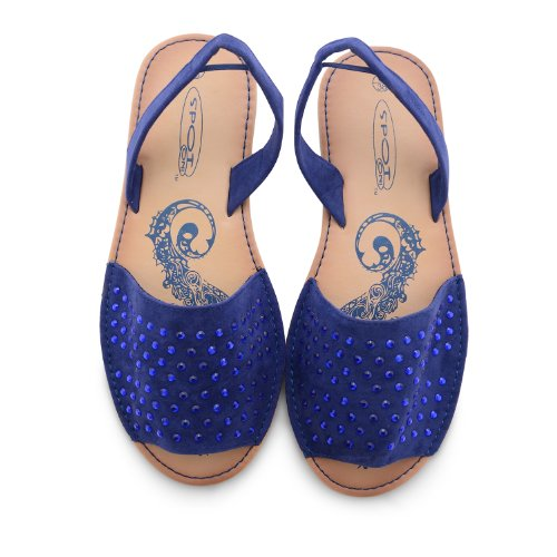 Plates Sensation Diamante Femme Footwear Noir Chaussures Navy BgxZqTEZw