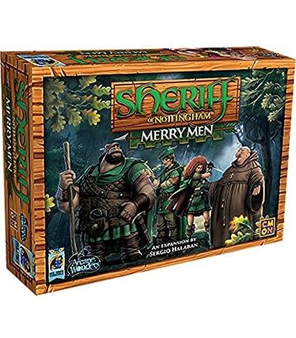 Arcane Wonders Sheriff Of Nottingham Merry Men Board Games by Arcane Wonders