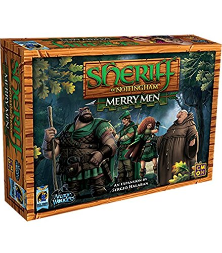 Where to find sheriff of nottingham board game merry?